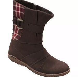 Patagonia Kula Buckle up boots size 5